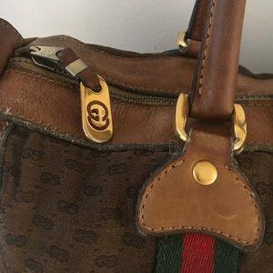 490f1ebbba4169 Gucci Bags   Auth Vintage Boston Speedy Supreme Bag   Poshmark